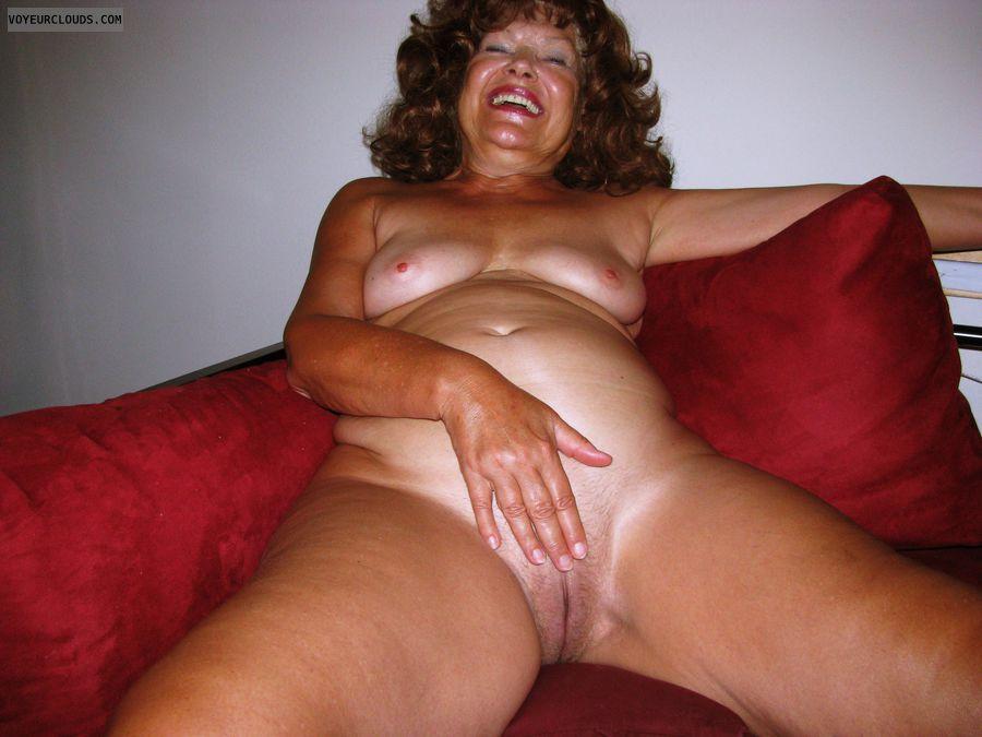 Pussy, Nude, Topless, Hard Nipples, MILF, GILF