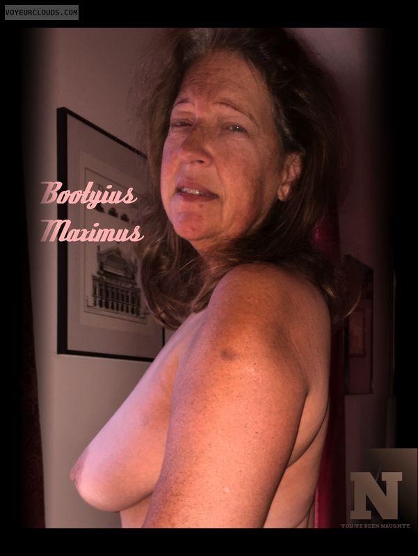 OK Boobs, Side boob, Compromised, AARP, 36D, Deserving