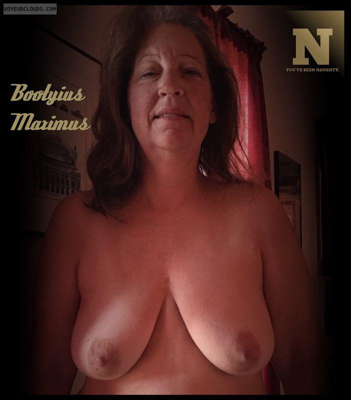 NNaughty, Deserving, AARP, 36D, OK Boobs, Brown nips