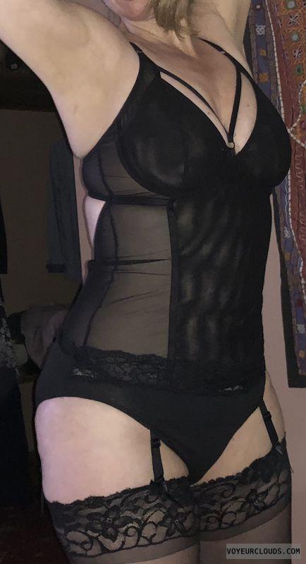 stockings, lingerie