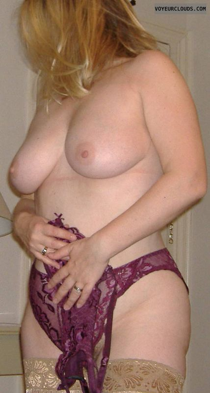 boobs, stockings, tits