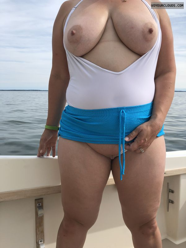 Breasts, nipples, pussy, shaved pussy, skirt, legs