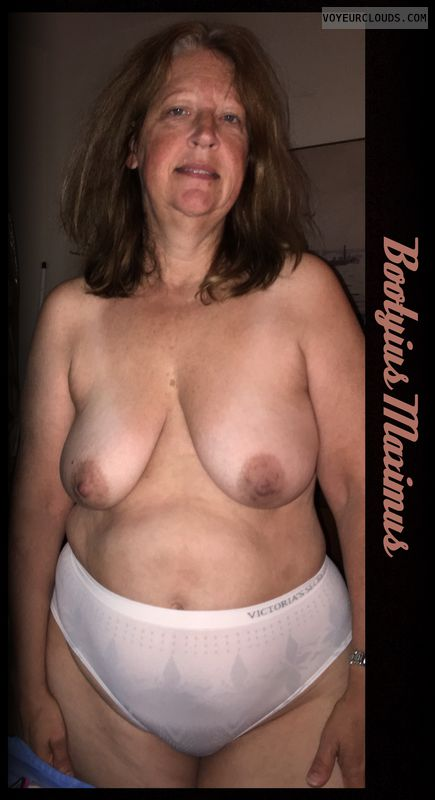 OK Boobs, 36D, AARP, Brown nips, OK Smile, Deserving
