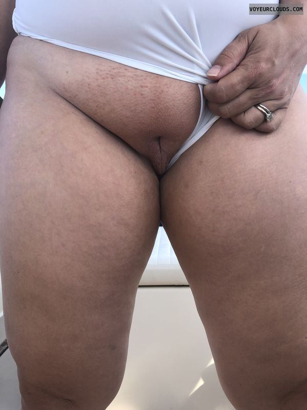 Pussy, shaved pussy, wet, wicked weasel, bathing suit