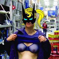 Bruce Wayne & Batgirl